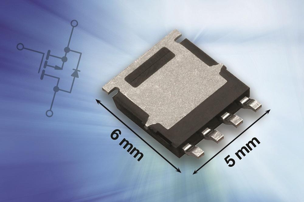 Vishay推出新款通过AEC-Q101认证的30 V和40 V P沟道MOSFET,有效提高板级可靠性