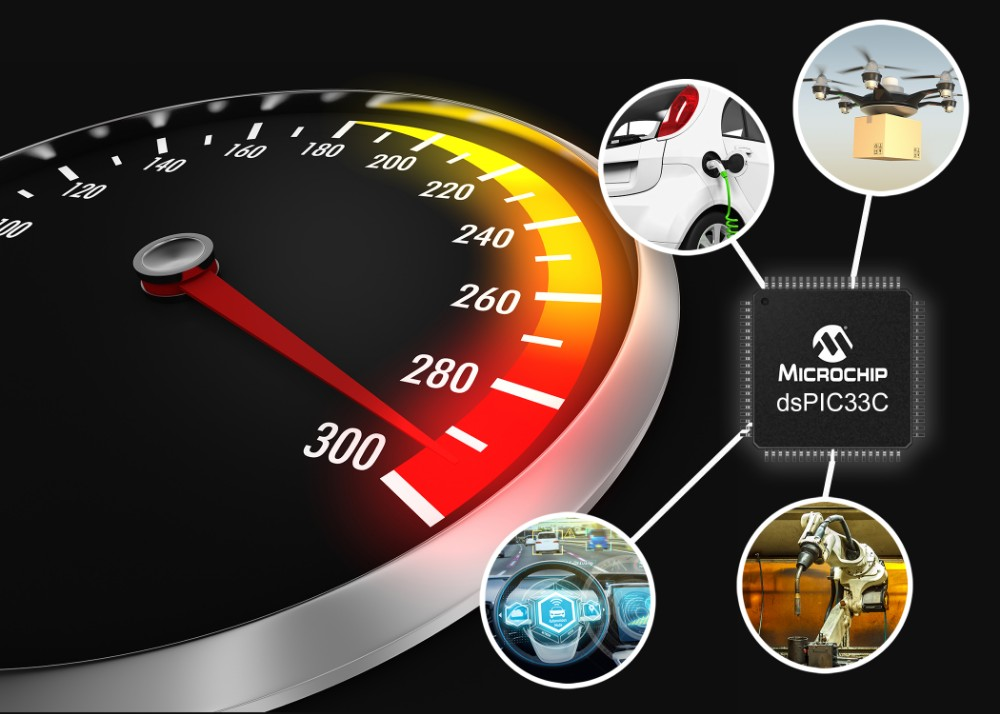 Microchip推出全新双核和单核dsPIC®数字信号控制器(DSC)系列,助力打造更大更强的应用