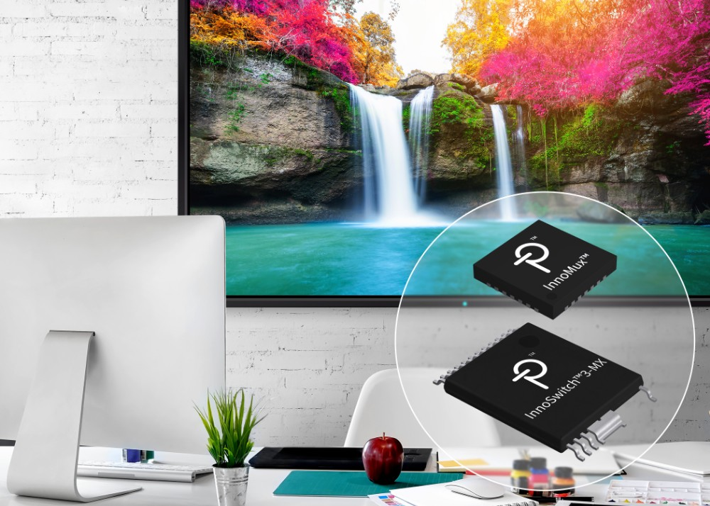 Power Integrations推出全新InnoMux技术,可提高显示器电源的效率