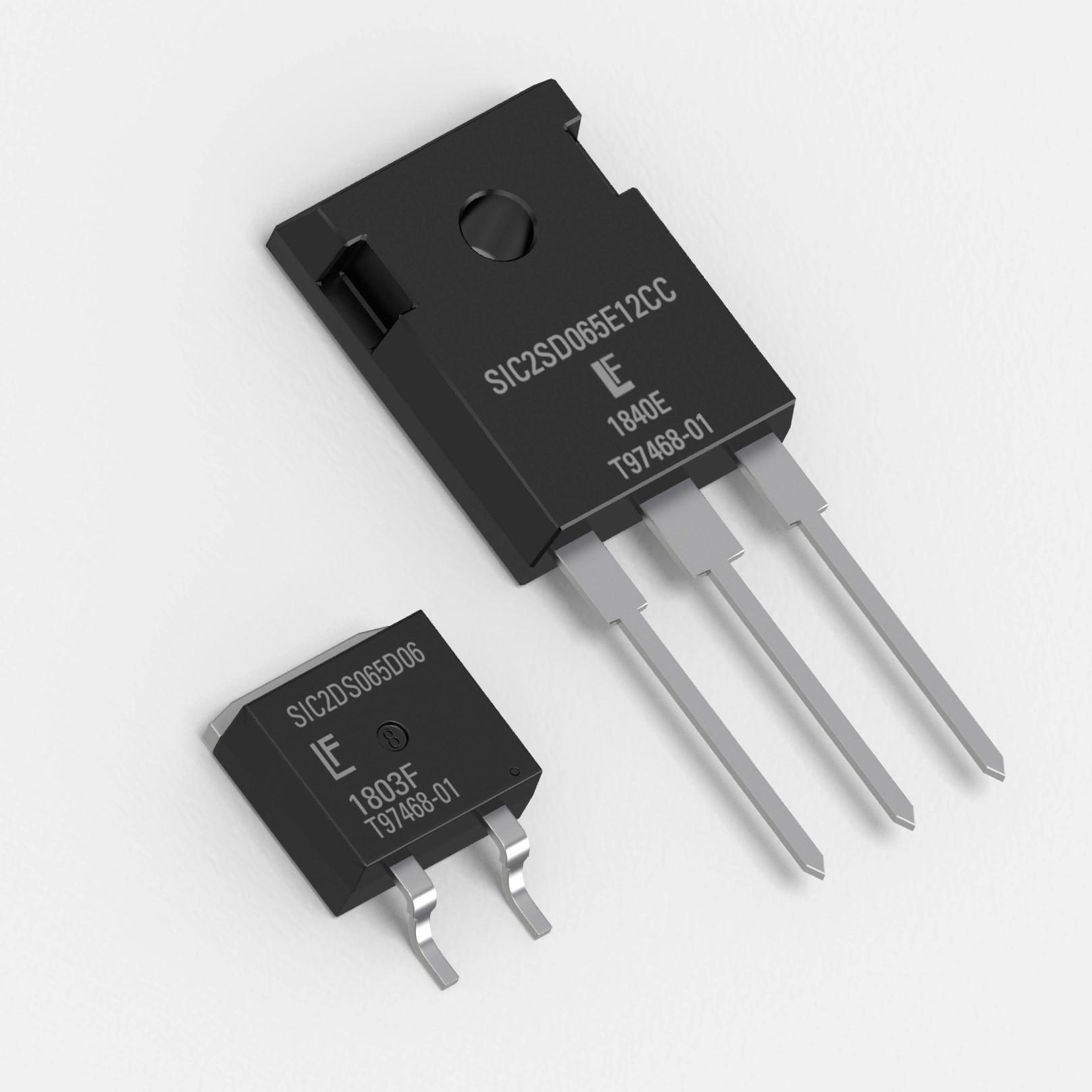 Littelfuse将于2019年APEC大会上推出650V碳化硅肖特基二极管,该二极管提供新的封装尺寸以及6A至40A的额定电流