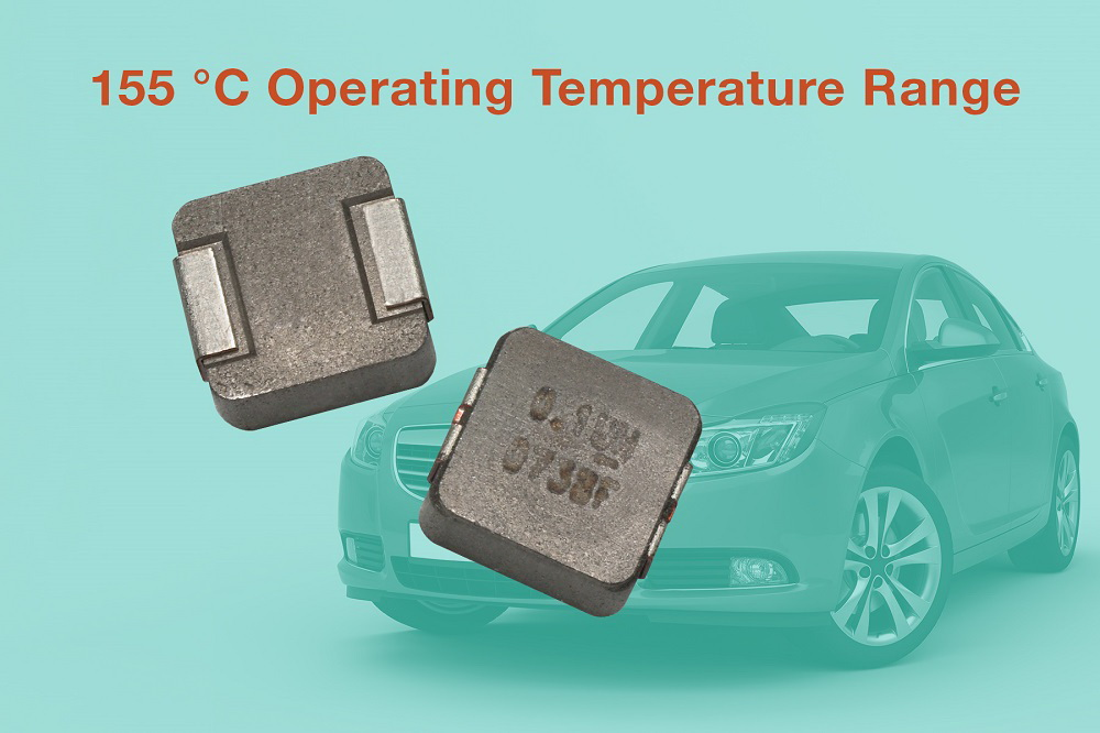 Vishay推出汽车级IHLP®电感器可在发动机舱155度高温条件下连续工作