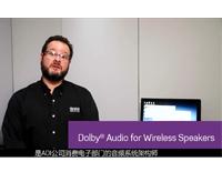 用于无线扬声器的杜比音效