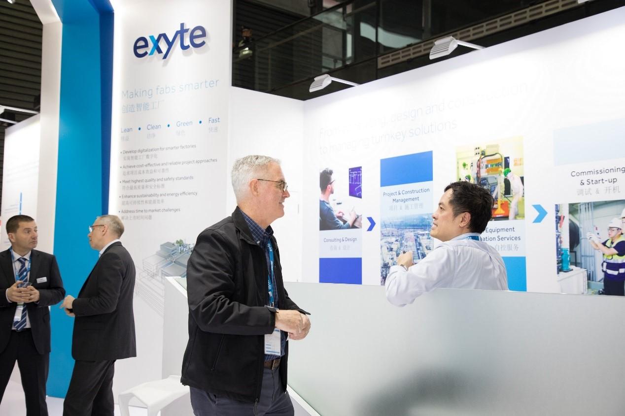 Exyte助力中国半导体厂房建设,准时、安全、可靠