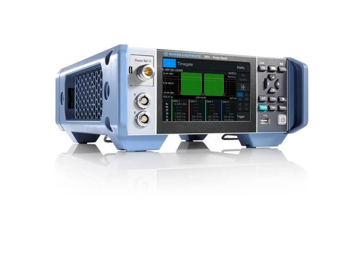 使用罗德与施瓦茨公司全新R&S®NRX射频功率计,即使复杂测试也可轻松完成
