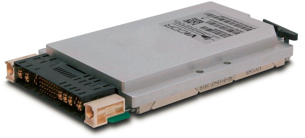 Vicor公司面向 MIL-COTS VPX 应用推出一款兼容VITA 62 的全新电源系统系列