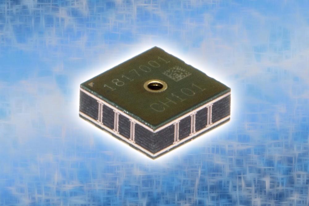 全球首款 MEMS 超声波飞行时间 (ToF) 传感器