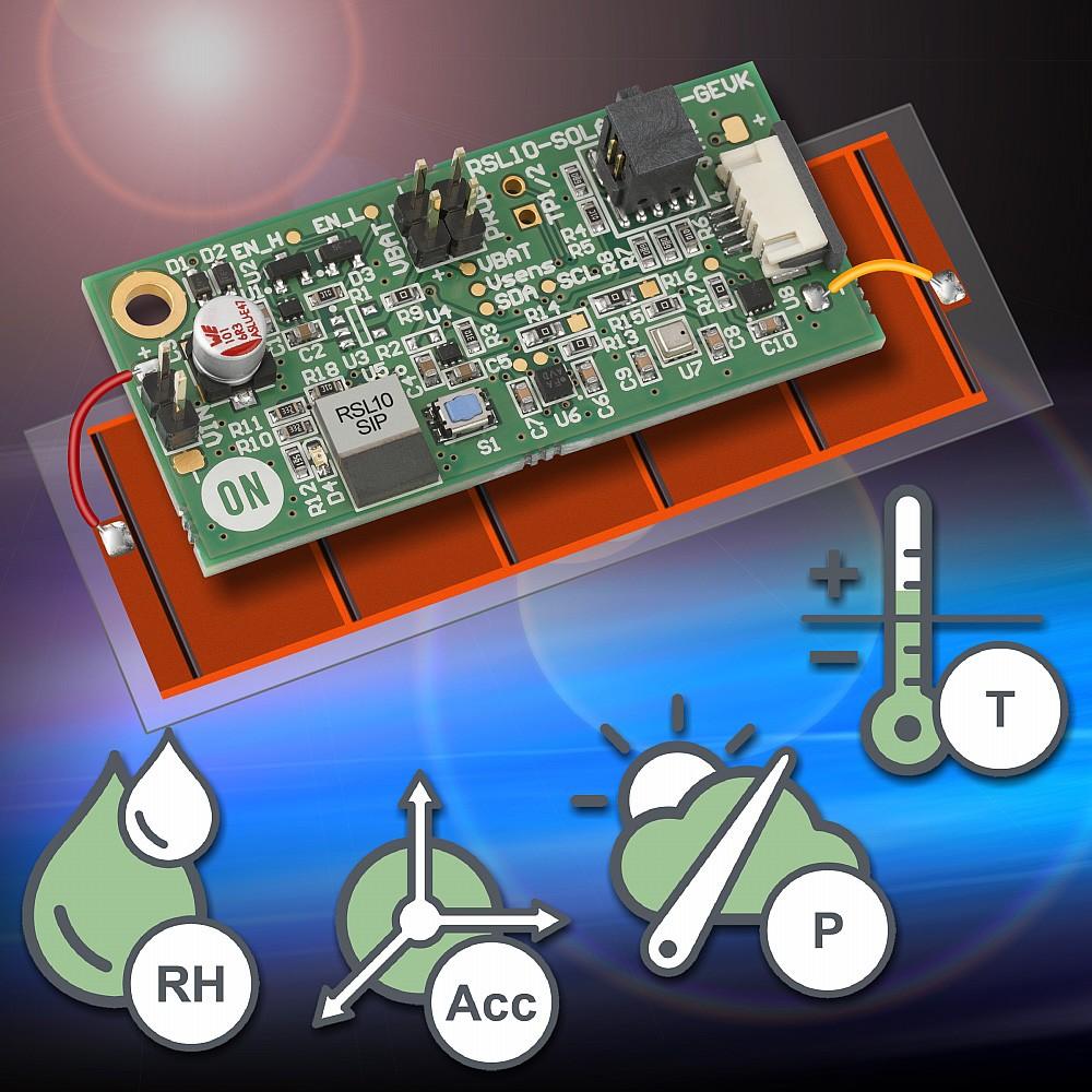 安森美半导体推出蓝牙低功耗多传感器平台, 继续使免电池IoT 成为现实