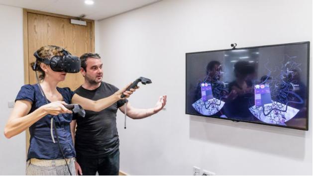 美NIH利用VR技術進行基因與環境互動的研究與探索