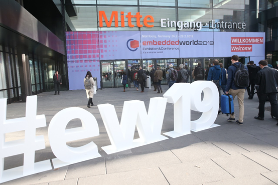 2019再次见证embedded world国际嵌入式展飞速发展