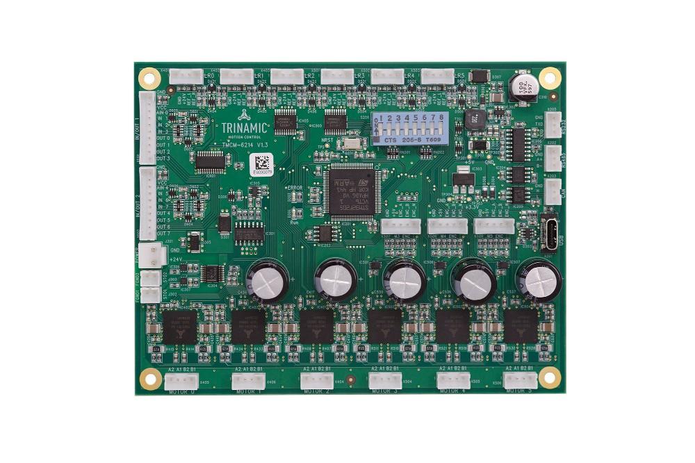 Trinamic推出用于六軸控制的高級步進電機模塊