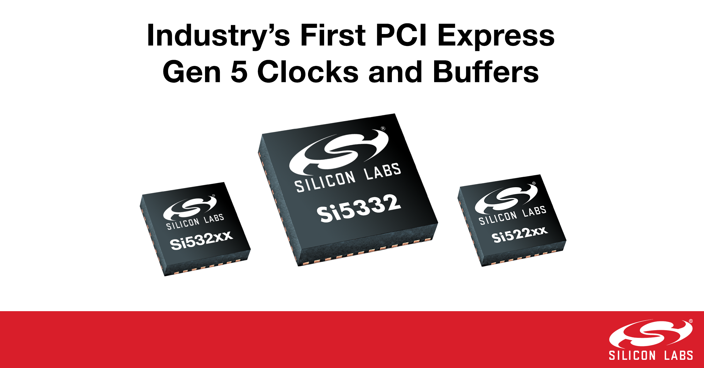 業界首家性能和功耗領先的PCI Express Gen 5時鐘和緩沖器