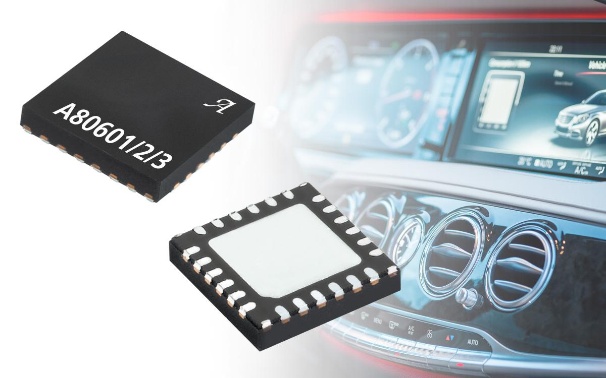 Allegro MicroSystems推出采用专利控制技术的最新LED驱动系列产品,能够消除PWM可听噪声
