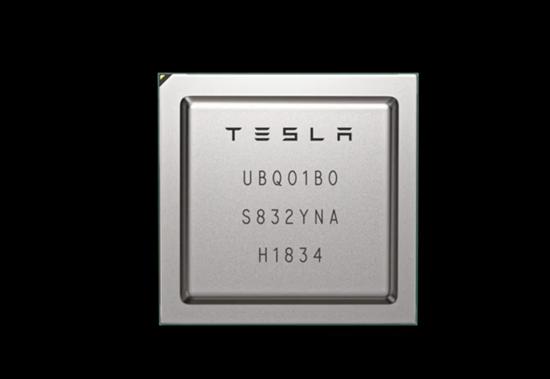 特斯拉发布自动驾驶定制芯片 性能比NV强大