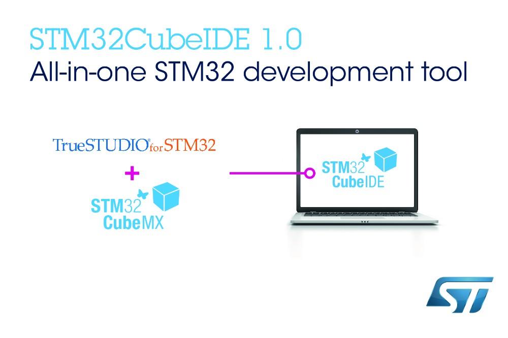 意法半导体发布免费集成开发环境,进一步扩大 STM32Cube微控制器生态圈