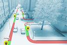 高精度街道路缘限制地图为实现最后1公尺导航的关键
