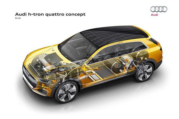 受動力電池產能影響 奧迪重啟氫燃料電池項目