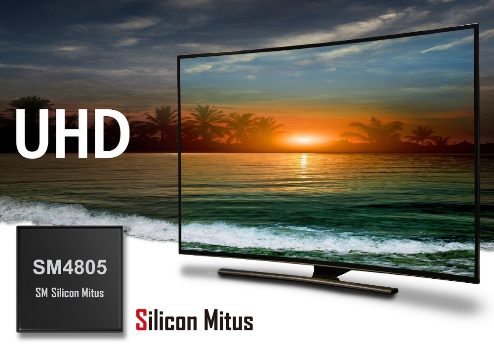 Silicon Mitus:业界首款通用型UHD TV LCD显示面板 电源管理IC提供高集成度和大输出功率