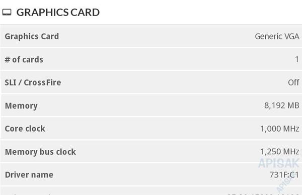 AMD 7nm Navi显卡两个新核心现身:8GB GDDR6显存