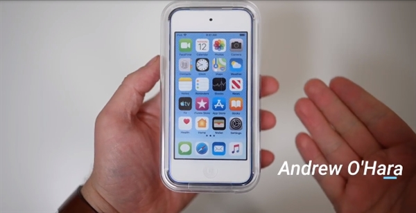 iPod Touch外媒上手:依然4寸小屏 外观设计毫无变化