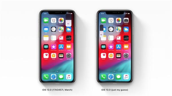 iOS 13系统截图曝光:全新音量调节器神似MIUI风格