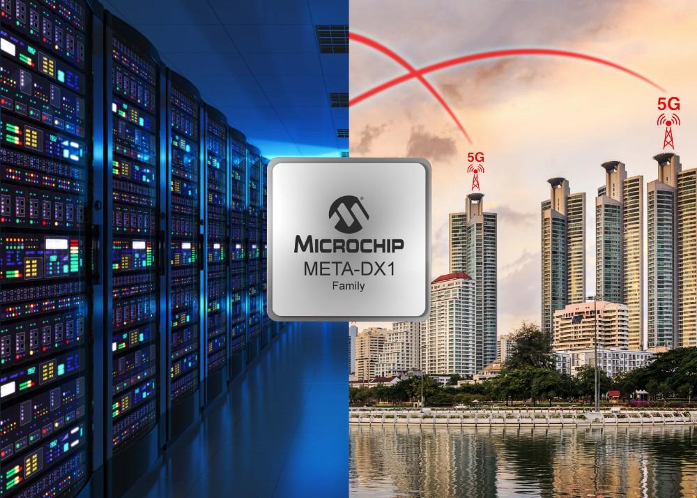 Microchip推出業界首款太比特以太網PHY, 可支持400 GbE的最高密度及FlexE連接