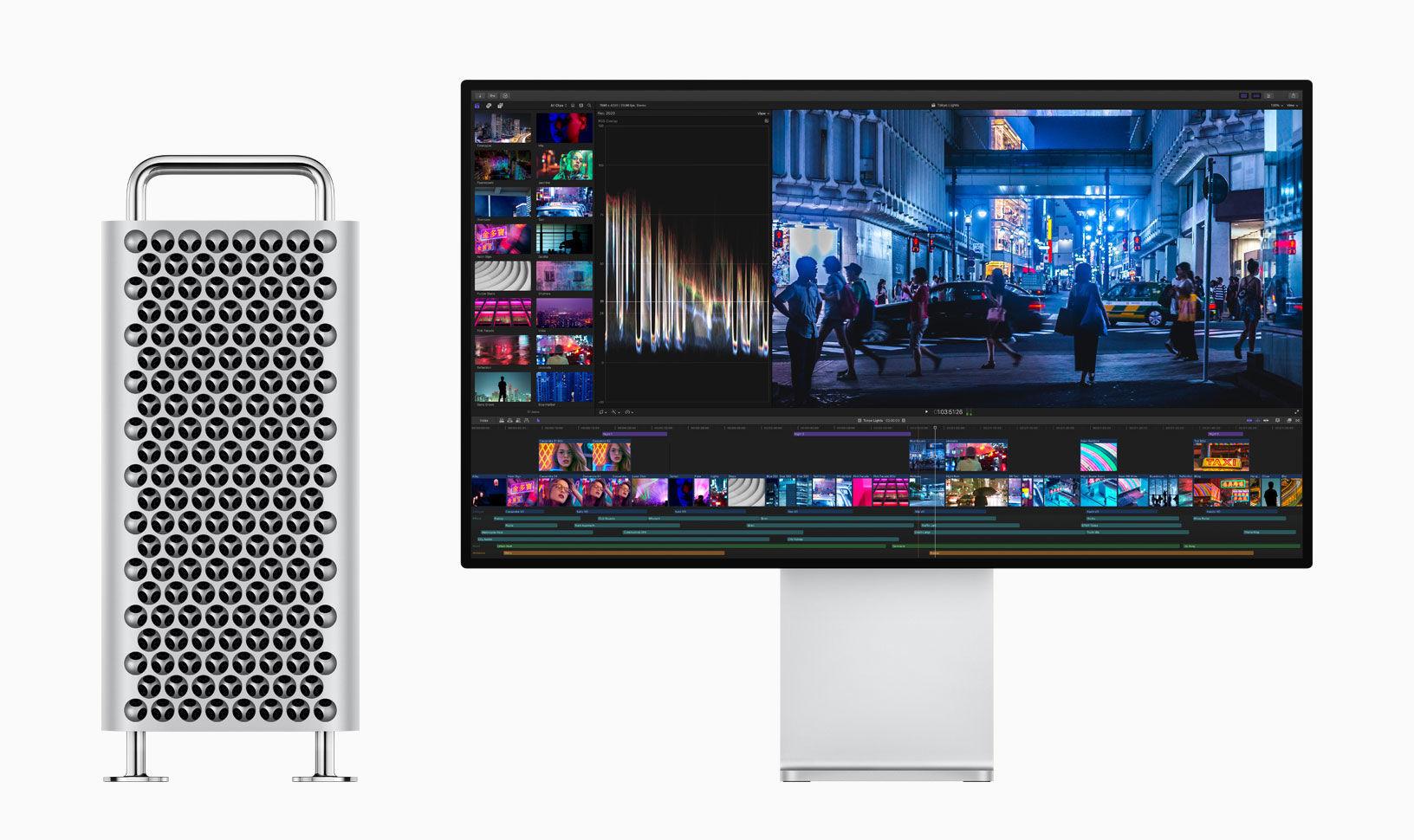 全新Mac Pro登场,像萝卜擦的性能怪兽