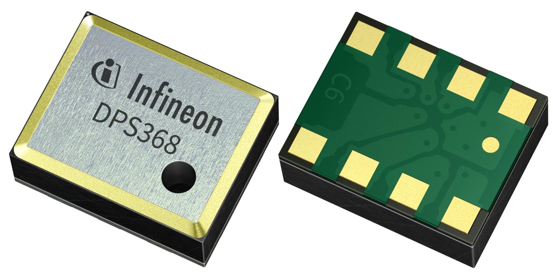 防水、防塵又防潮:英飛凌推出超小型氣壓傳感器DPS368