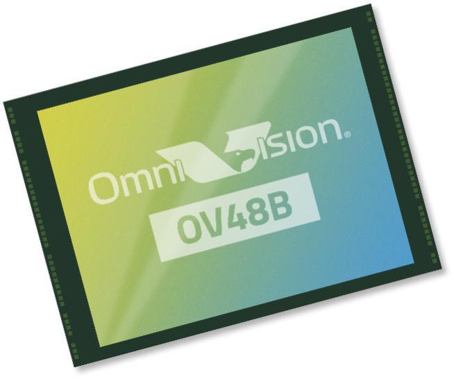 OmniVision推出首款0.8微米4800万像素图像传感器