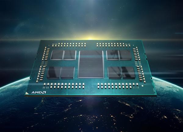 AMD 7nm 32核心霄龙7452跑分曝光:对比Intel 20核心至强