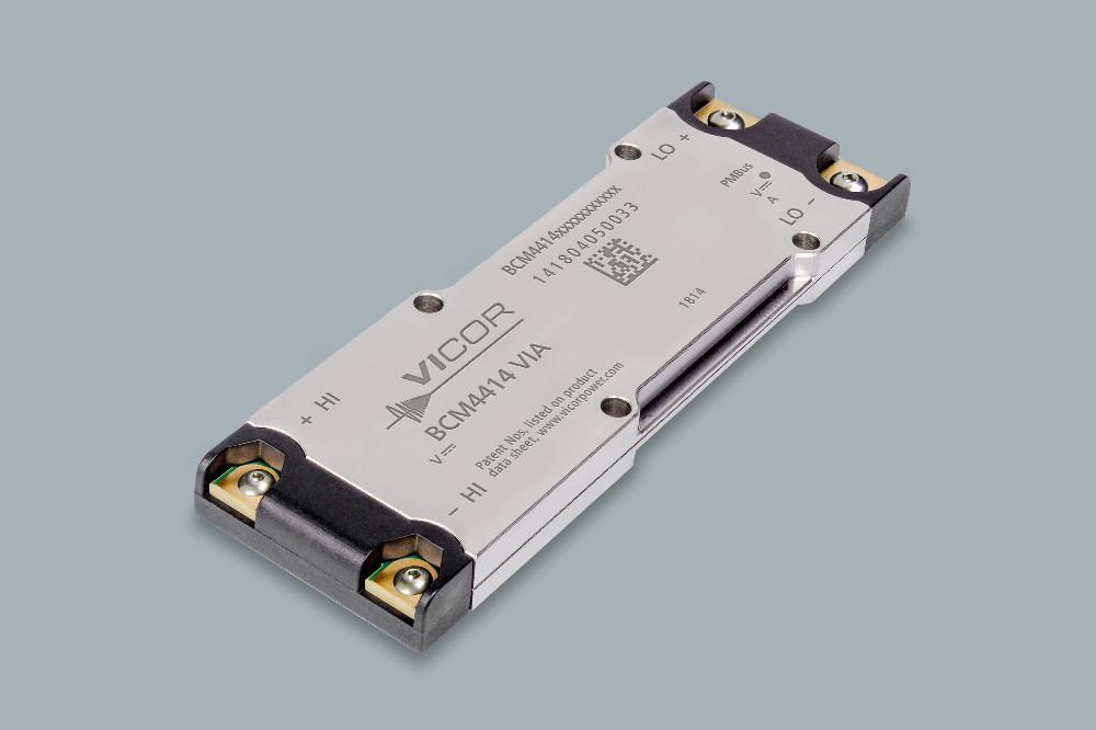 Vicor 推出最新 800V 母线转换器模块