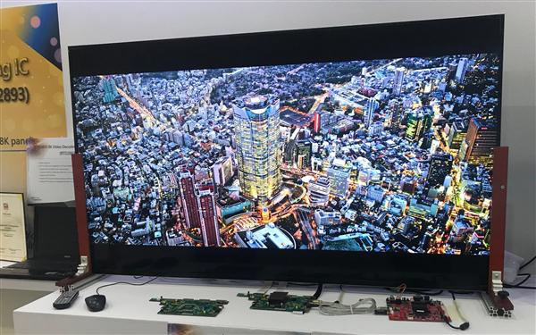 Realtek展示首个8K超清平台:发热量堪忧