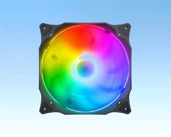 SilentiumPC推出全新ARGB风扇:酷炫光污染