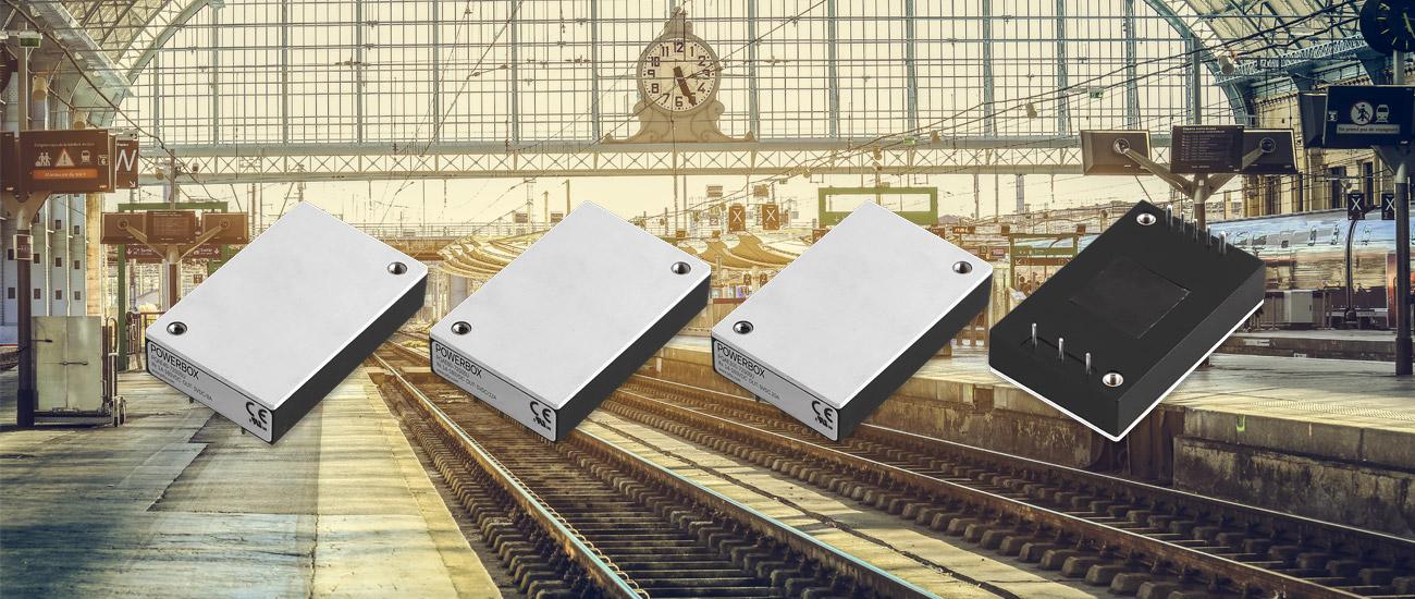 Powerbox 新超寬輸入12:1,40W至100W可用于惡劣環境的四分之一磚電源