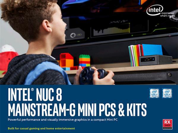 Intel NUC 8迷你電腦開賣:配AMD RX 540顯卡
