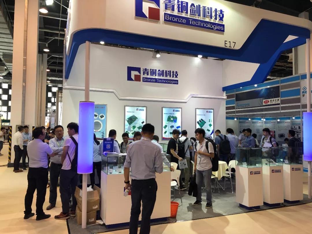青铜剑科技参展PCIM Asia 2019,纯国产驱动方案广受关注