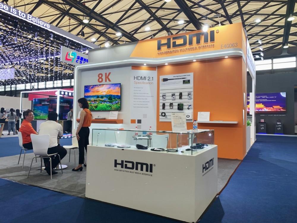 采用HDMI 2.1规范的8K电视亮相2019国际显示博览会