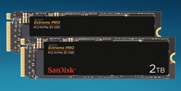 西数开恩:闪迪Extreme Pro SSD终于加入2TB