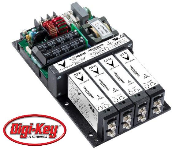 Vox Power Ltd 全系列用戶可配置電源通過 Digi-Key 面向全球發售