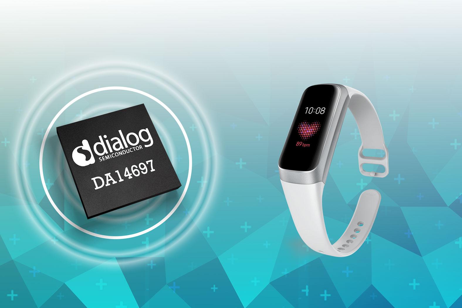 Dialog半导体公司为三星Galaxy Fit提供蓝牙低功耗连接方案
