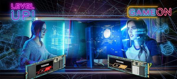 东芝推出RD500、RC500两款电竞级M.2 NVMe SSD