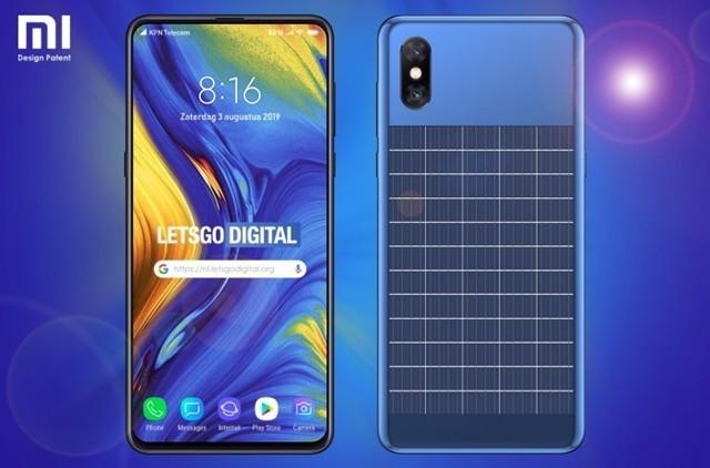 小米新专利可集成太阳能电池板的智能手机曝光