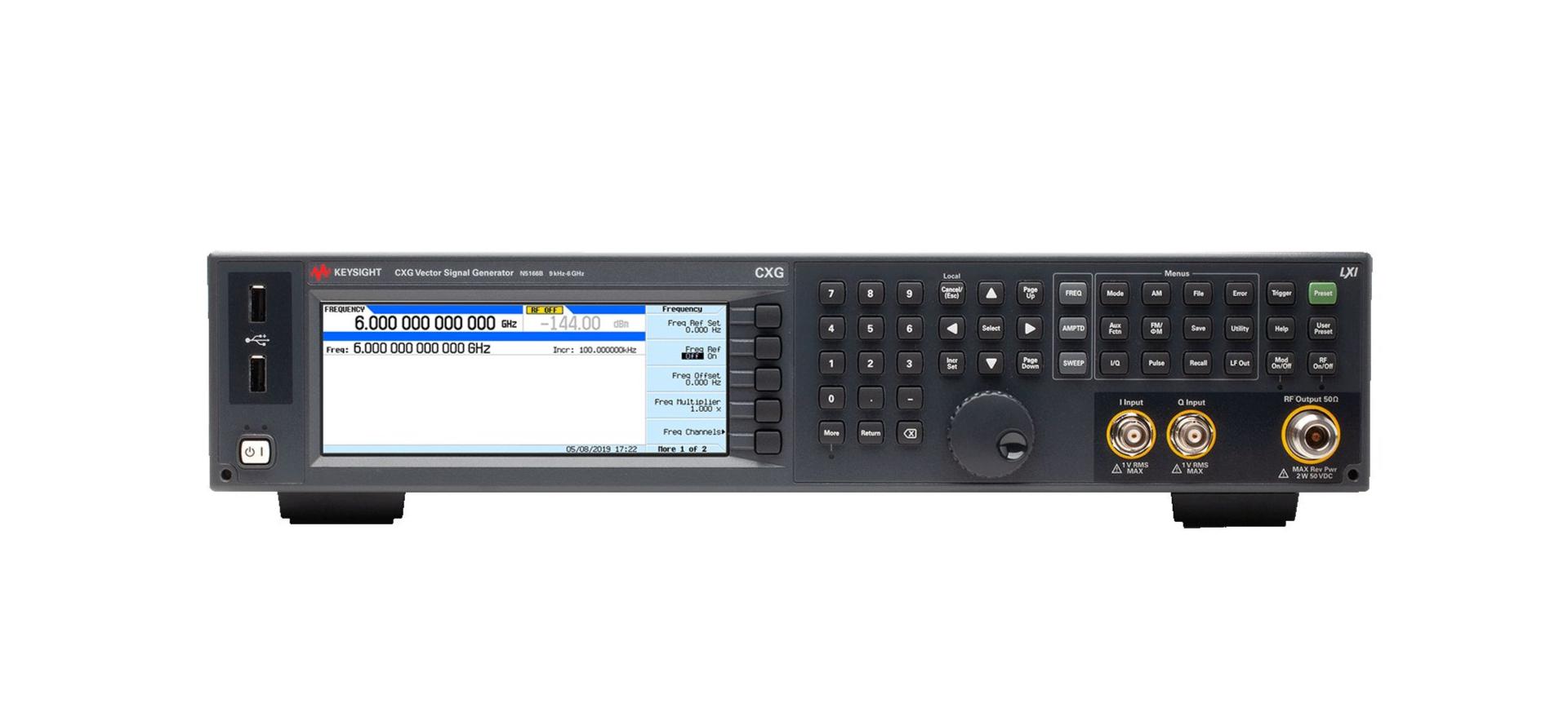 是德科技推出新型射频矢量信号发生器