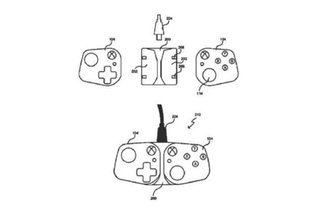 微软新专利曝光:智能手机可变为Xbox控制器