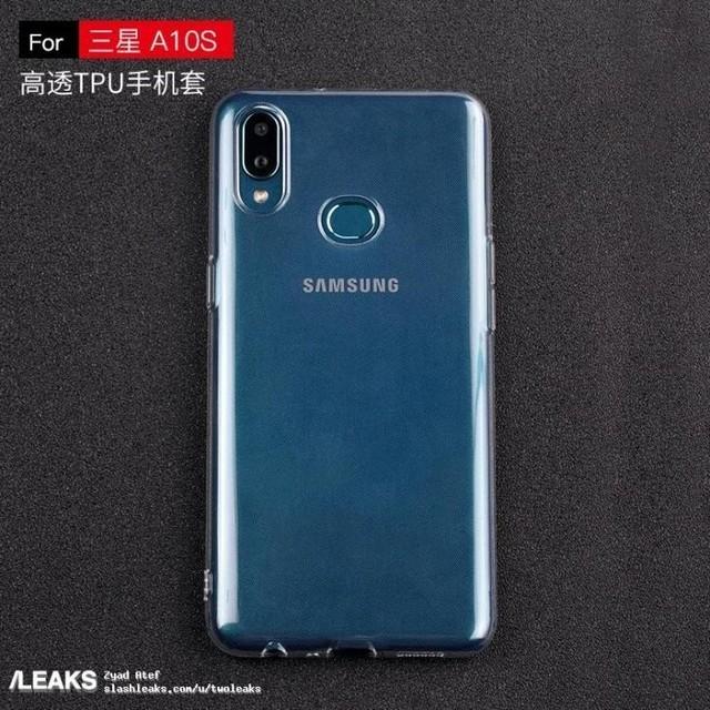三星Galaxy A10S真机曝光 刘海屏+后置指纹/双摄