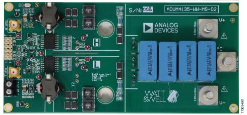 將ADuM4135柵極驅動器與Microsemi APTGT75A120T1G 1200 V IGBT模塊配合使用