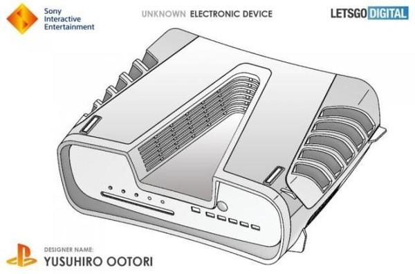 索尼PlayStation5设计曝光 深V领/全身都是散热孔?