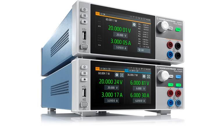 罗德与施瓦茨的NGM200系列电源为电池应用树立全新测试与测量标准