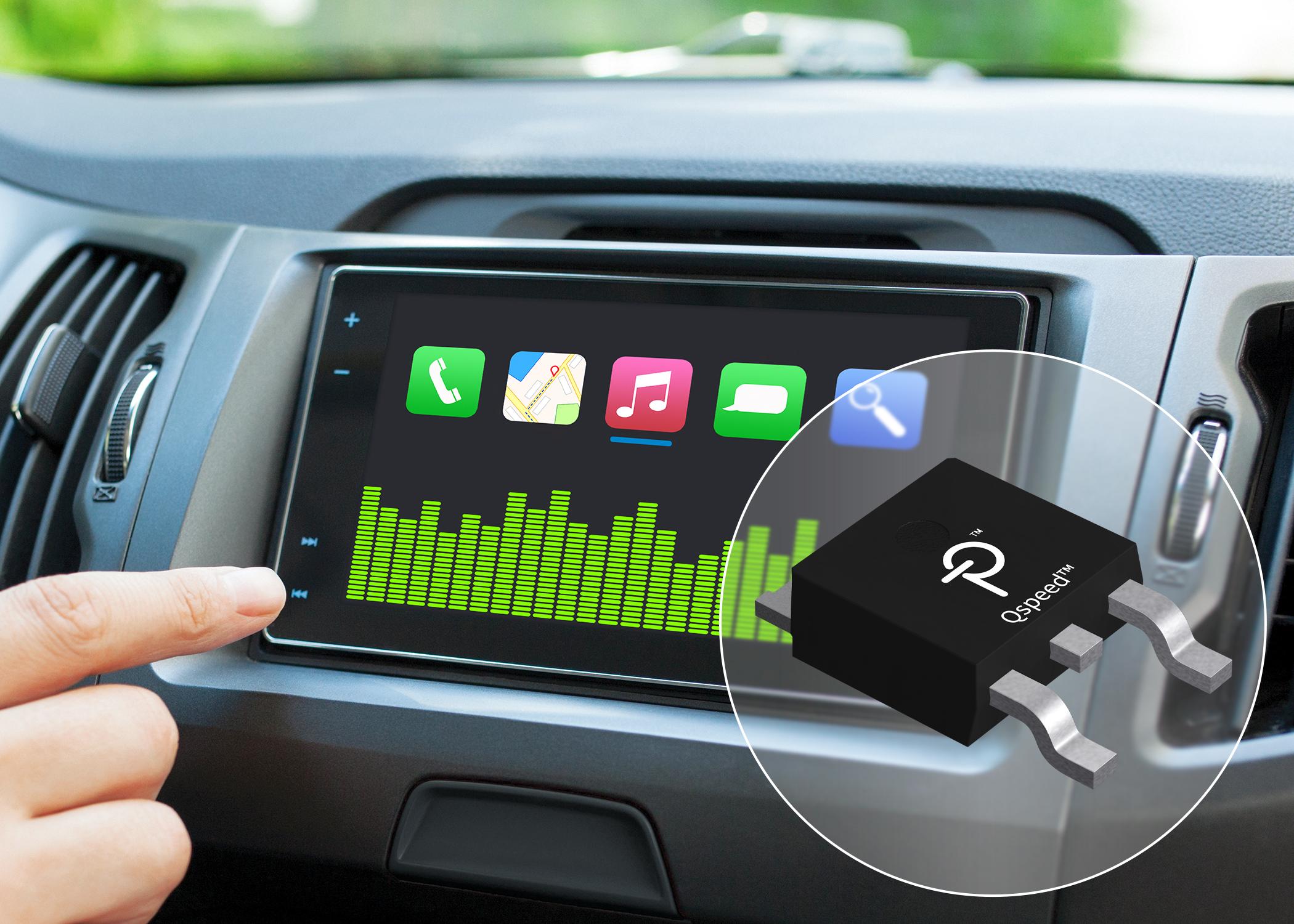 Power Integrations推出汽车级200 V Qspeed二极管,可大幅增强音频放大器的性能