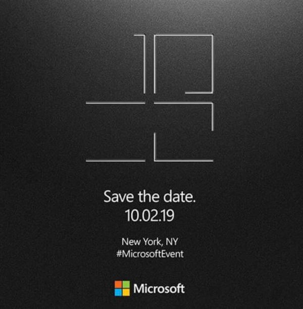 微软Surface Laptop 3 15将搭载AMD处理器:10月2日见