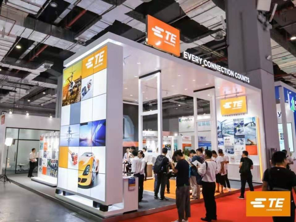 TE Connectivity亮相2019年工博会,助力中国工业向数字化转型